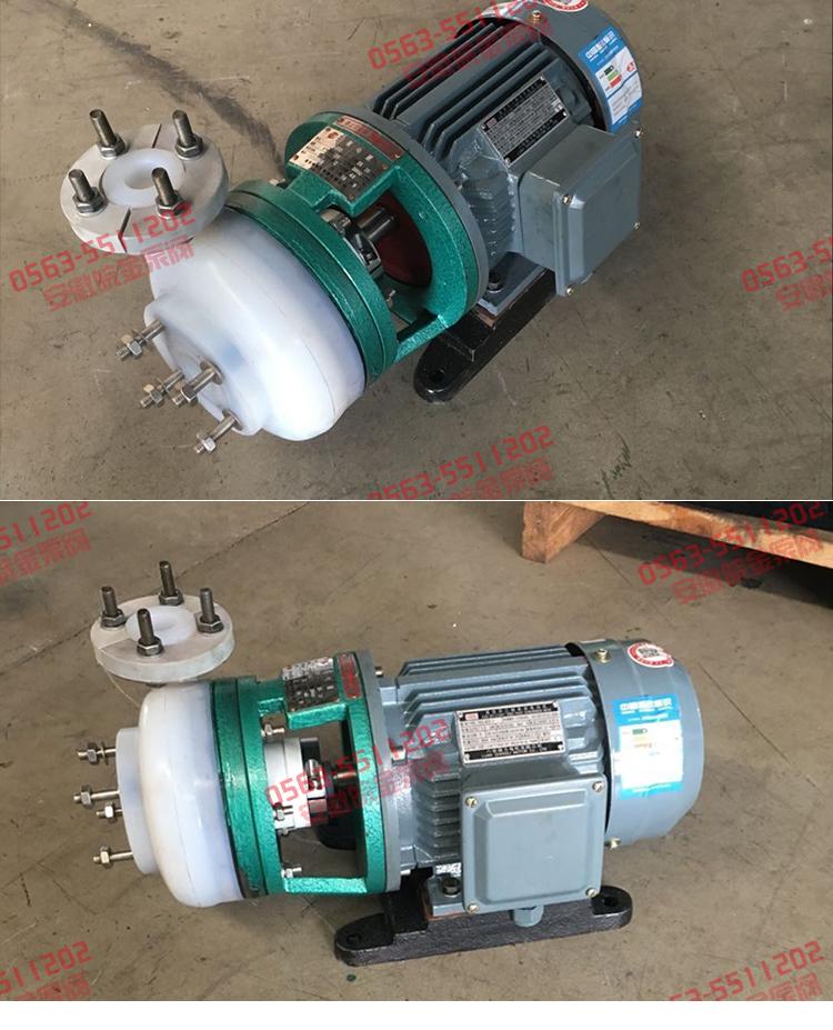 FSB-D氟塑料(合金)离心泵图片
