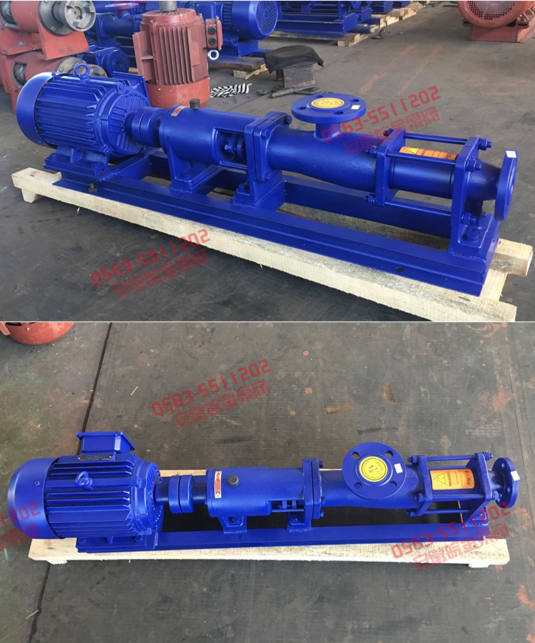 单螺杆泵图片