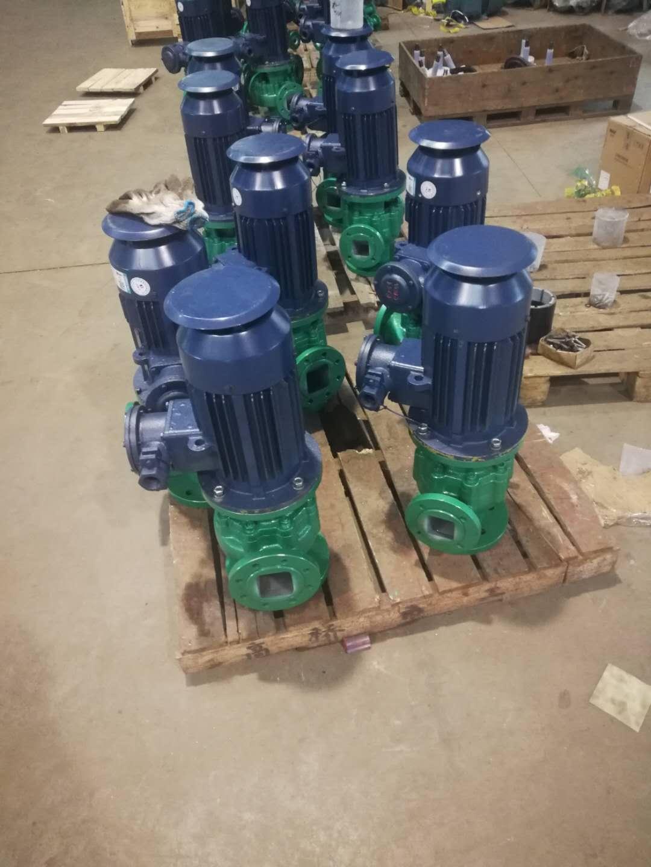 GD-F衬氟管道泵